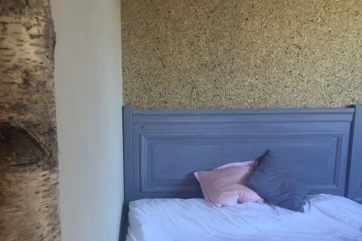 Elegant Lavendel/Heu Im Schlafzimmer
