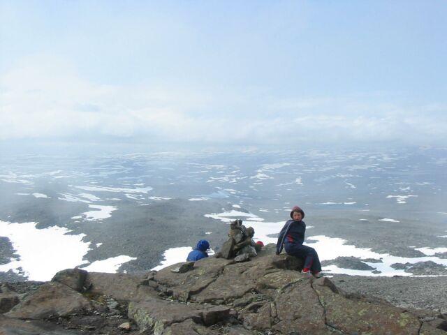 Halti on Suomen korkein tunturi, 1320 m.