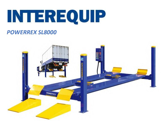 Check features of 8 ton four post #VehicleLift with two jack at: http://bit.ly/2GxTYRP To buy these lifts and hoists visit Interequip at: http://www.interequip.com.au/lifts/