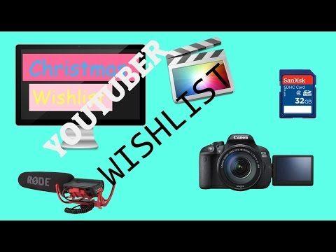 YouTuber Christmas Wishlist| Aaliyah Johnson