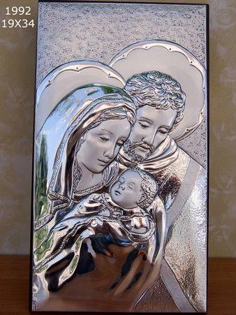 Icona Sacra Famiglia;Sima Argenti; :: Casa Del Regalo