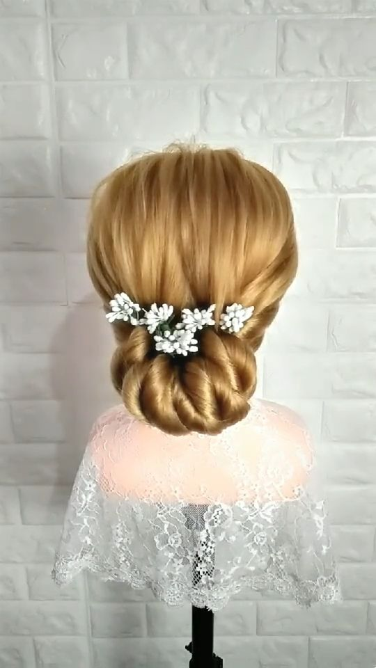 Bride Hair Design idea video in 2019