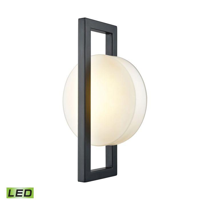Elk Outdoor Lighting 85 best outdoor lighting ideas images on pinterest decks lighting elk lighting zulle 1 light led outdoor wall lantern in matte black workwithnaturefo