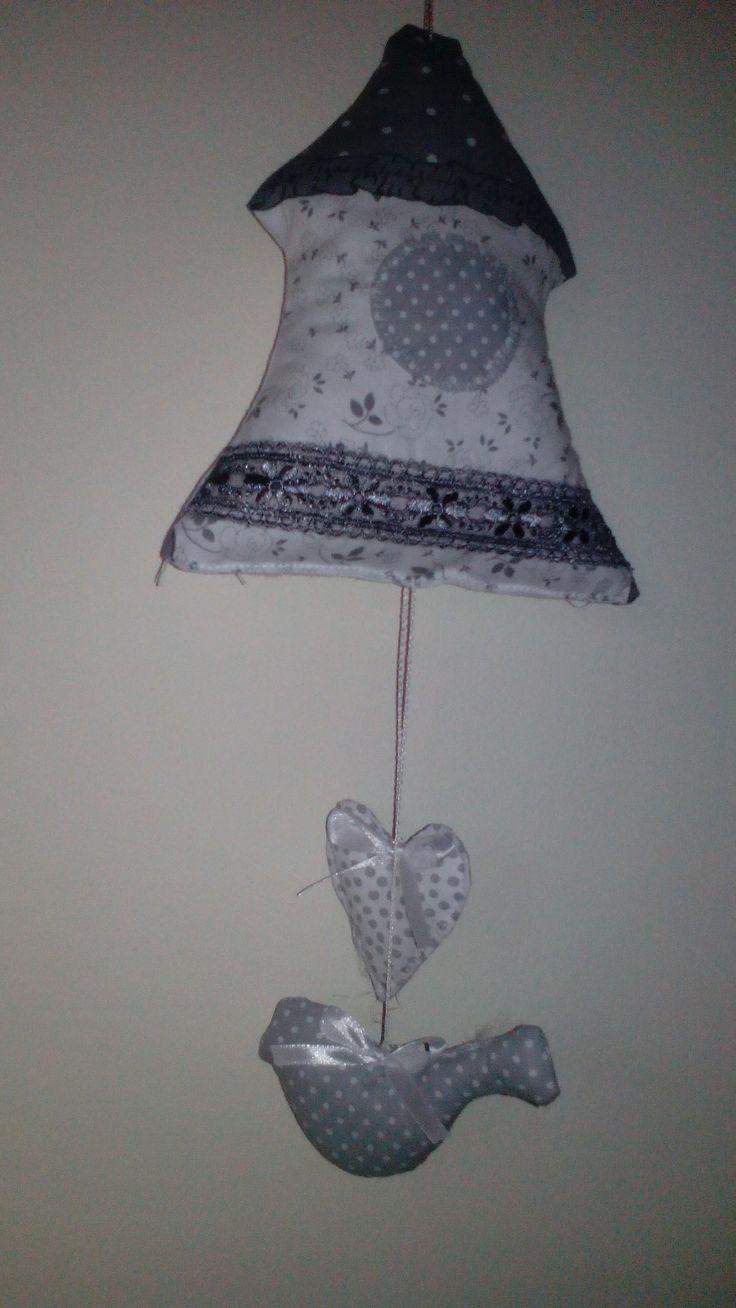 domek z tkaniny