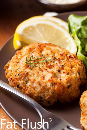 Crab Cakes in a Flash- Official Fat Flush Recipe