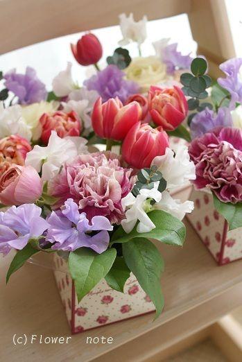 『【プチアレンジ】はいかがですか?』 http://ameblo.jp/flower-note/entry-11190429463.html
