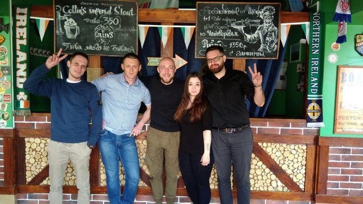 Друзья, сегодня нас посетилСергей Гореликов😉, он же Серж Горелый👏,  он же Турбо- резидент шоу «Комеди клаб» на ТНТ. Задал отличное настроение на весь день! Заходите - поделимся!😎 #brawlerspub #pub #moscowpubs #irishpub #beer #tastybeer #gletcher #gletcherbrewery #apricot #настроение #юмор #серж #паб #пабымосквы #сержгорелый #турбо #университет #академическая #ленинскийпроспект