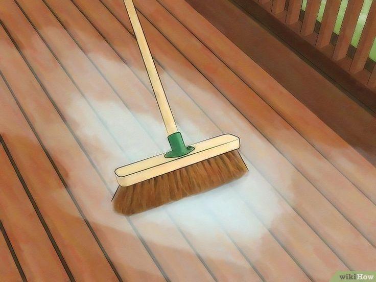 Clean a Trex Deck Deck cleaning, Deck cleaner, Deck steps