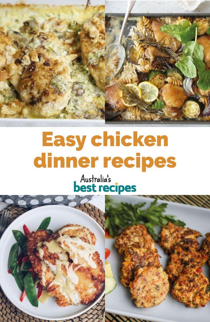 100 Easy Chicken Dinner Recipes For Your Family Chicken Dinner Recipes Chicken Recipes Easy Chicken Dinner Recipes