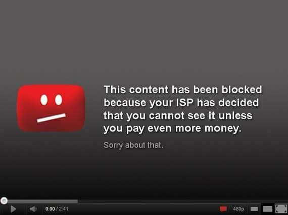 Net Neutrality is important.