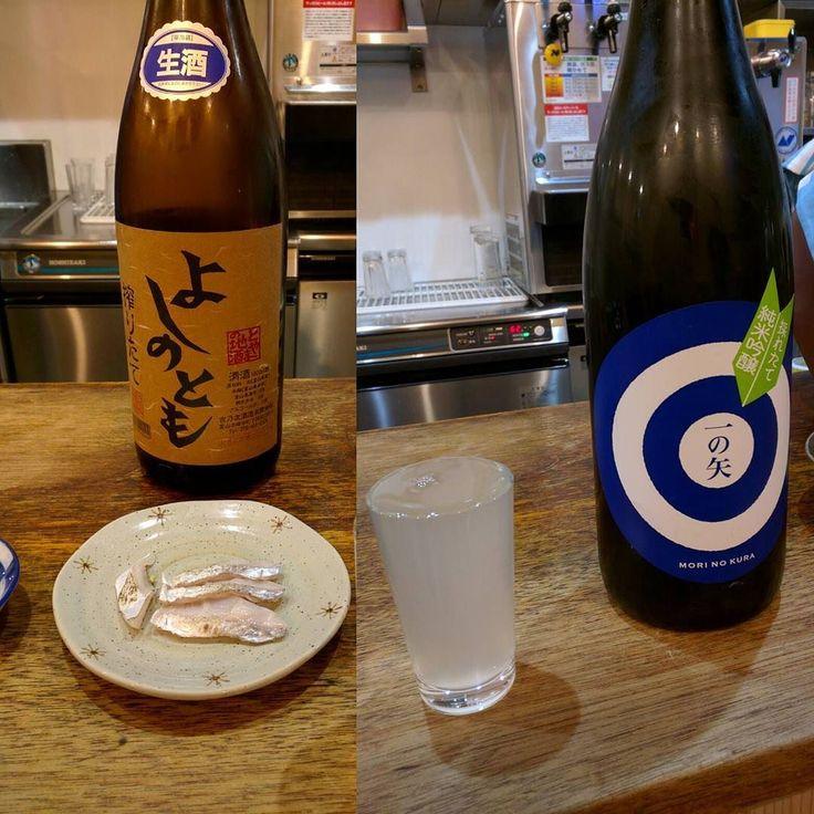 大島酒場でタチウオの刺し身炙って出してくれたものすごく脂がのってる #タチウオ #大島酒場 #mitaka #aburi #morinokura by priscilla3rd