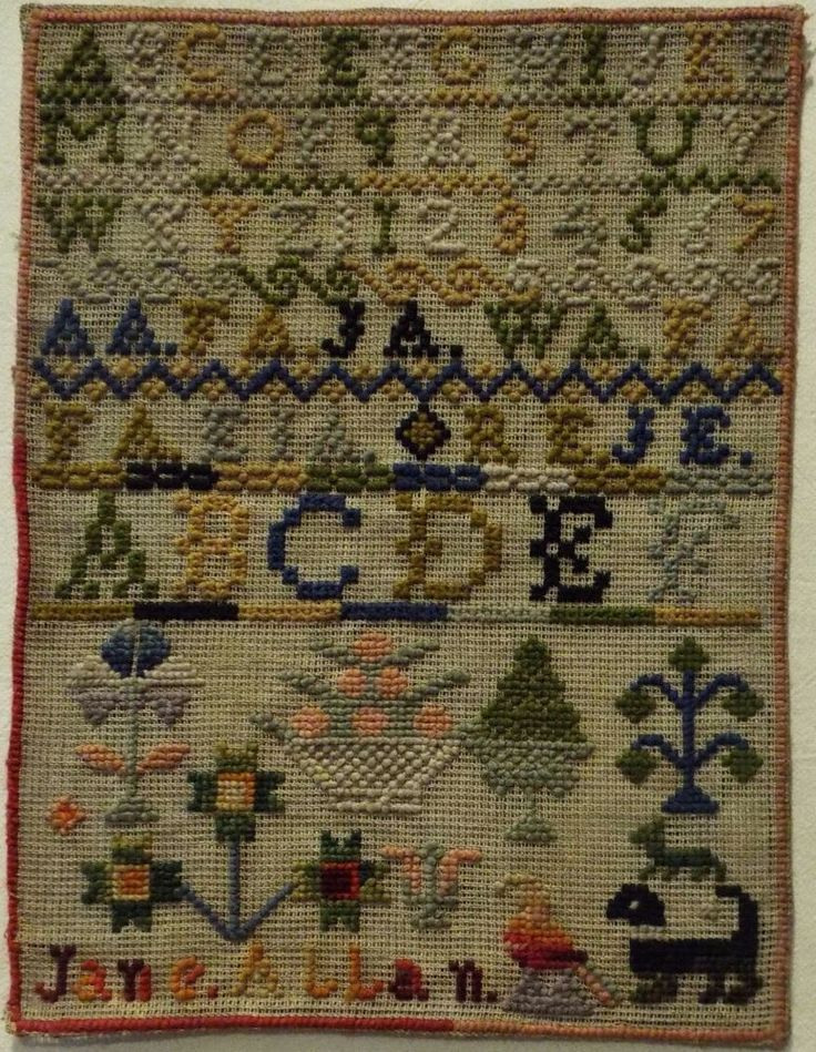 Best antique samplers and needlework images on