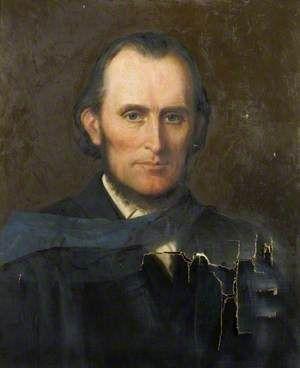 Reverend Henry Robert Reynolds, DD (1825–1896), President of Cheshunt College