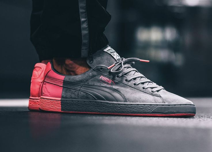 Staple x Puma Suede - Grey/Pink (by knucklerkane)