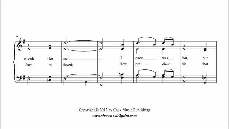 Amazing Grace - Piano www.sheetmusic2print.com/Wagner/Violin/Bridal-Chorus.aspx