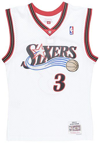 b8bee1e6f Discounted Mitchell   Ness Allen Iverson 2000-01 Philadelphia 76ers Home Swingman  Jersey  228  228  Basketball  Medium  Misc.