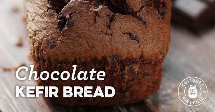Chocolate Kefir Bread