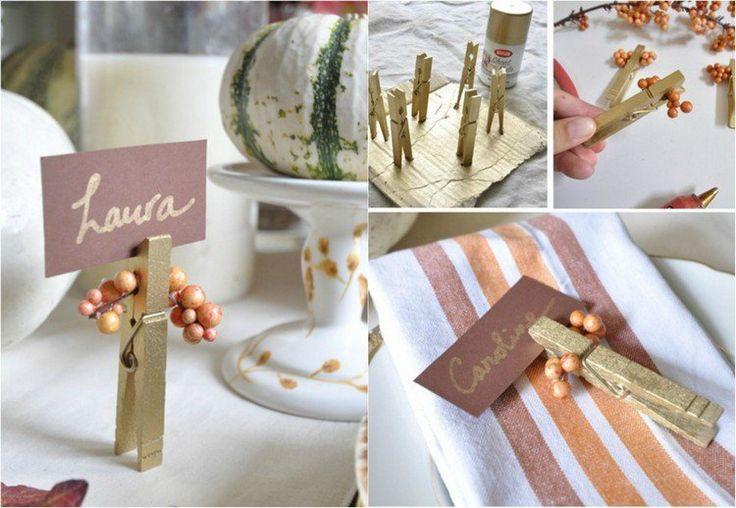 Deavita vous propose 60 idées de bricolage maison facile pour fabriquer de jolies décorations automnales pour l'intérieur et le jardin. Déco de table, idées