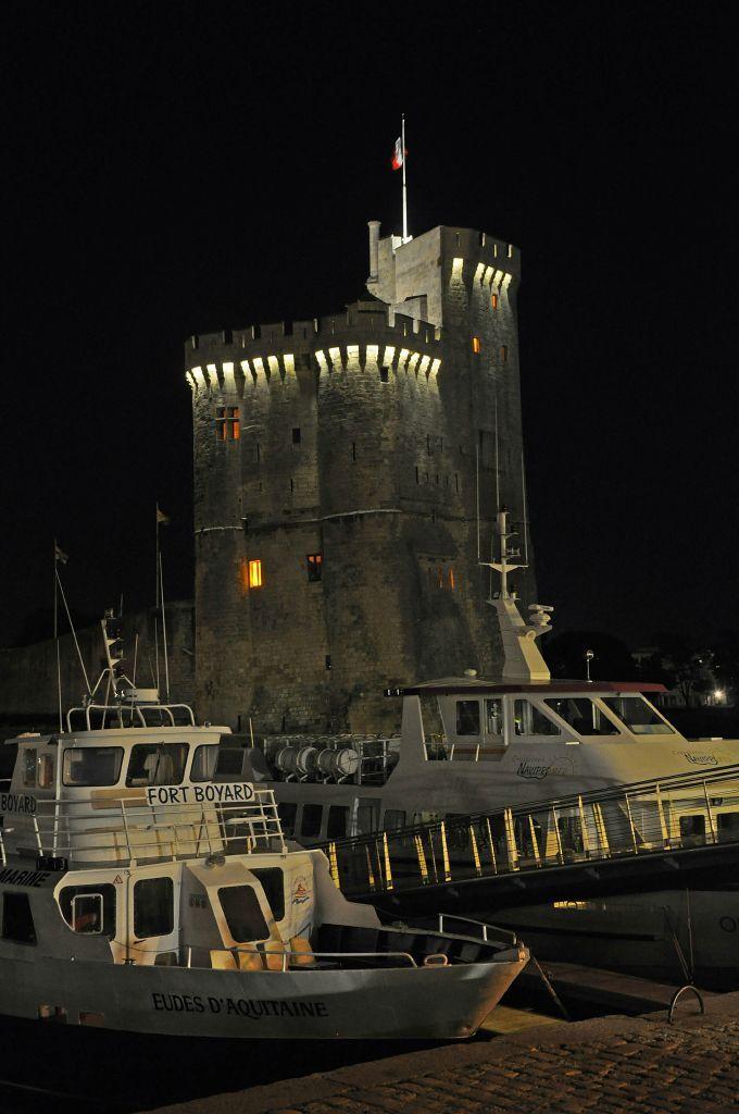 La Rochelle, France. La tour st Nicolas.