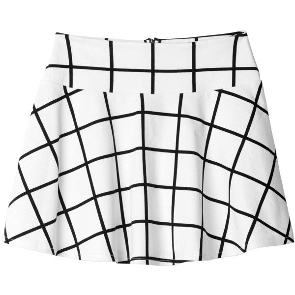 Monki Edda grid skirt and other apparel, accessories and trends. Browse and shop 16 related looks.