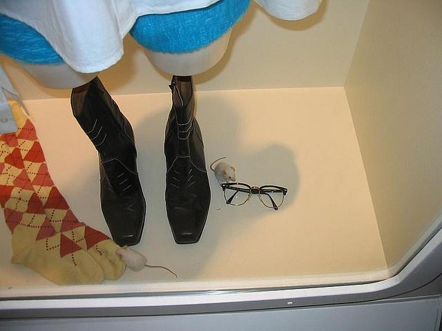 Thong sandals latex balloon