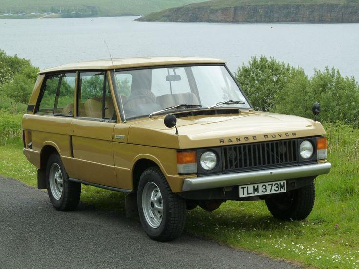 Range Rover – 2 Door Classic – Bahama Gold - i.e. yellow ochre - 1973