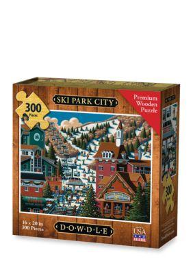 Dowdle Puzzles Ski Park City Puzzle - Multi Color - 20 16