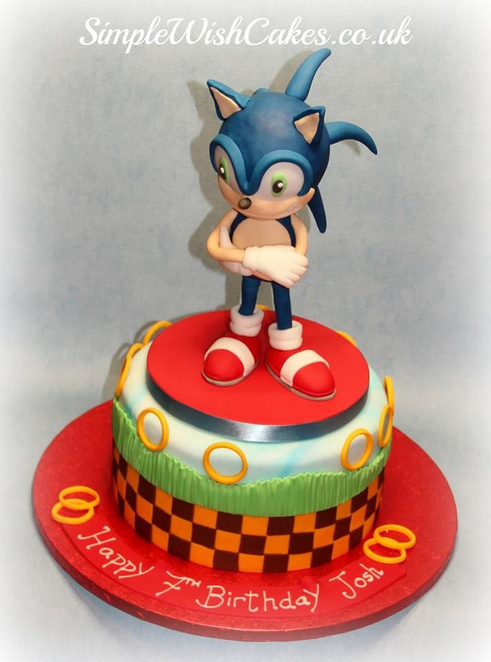 Sonic Cake Topper Nz