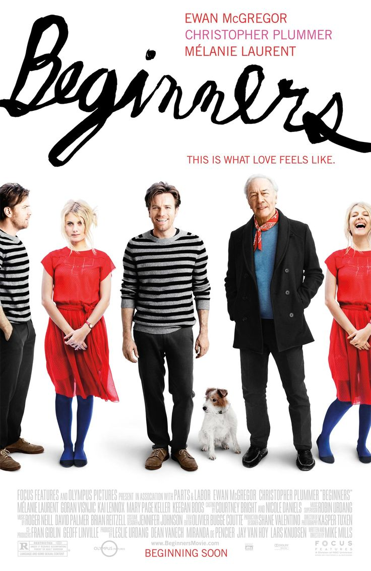 "Cartaz do filme ""Beginners""."