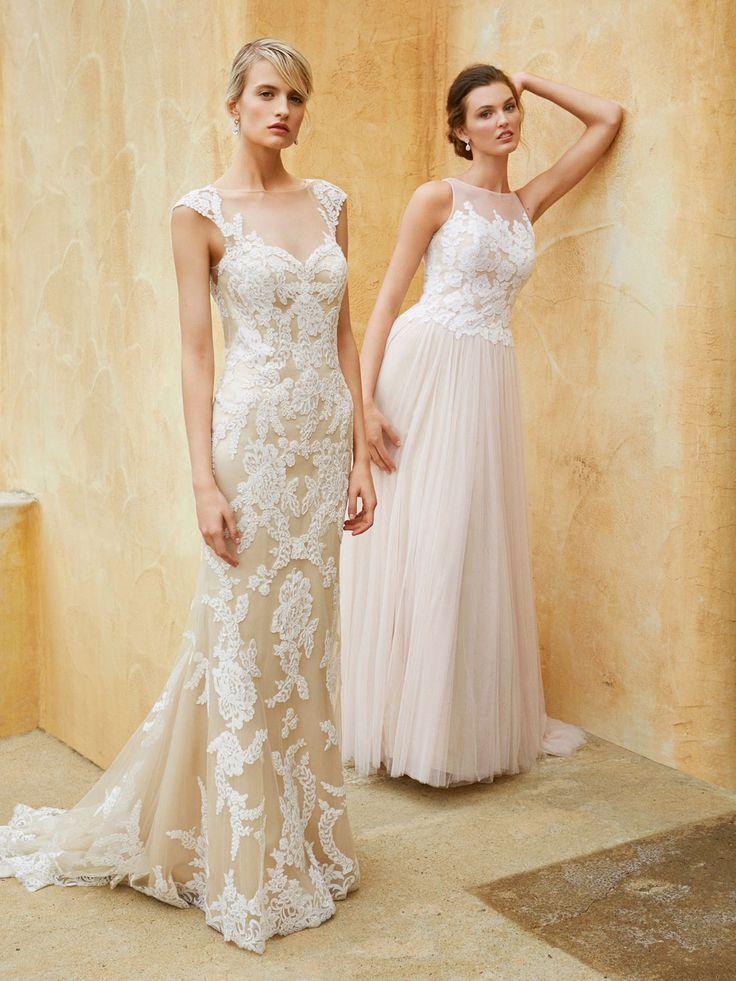 Beautiful 2016, BT16-12 and BT16-4 - Enzoani 2016 Wedding Dresses | itakeyou.co.uk