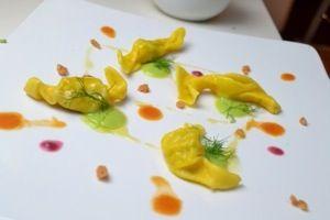 Le caramelle di scampi dello chef Alessandro Borghese - Pagina Food