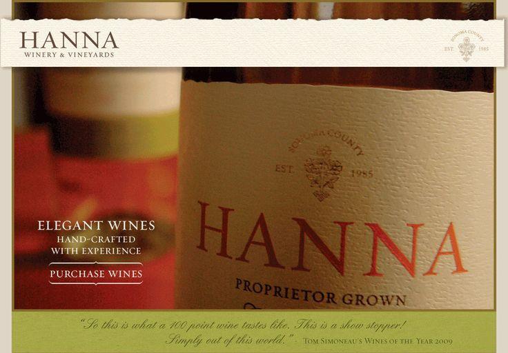 Hanna Winery- Sonoma