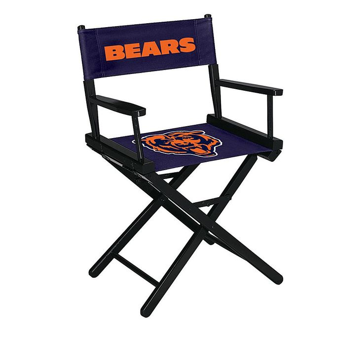 Officially Licensed NFL Table Height Director's Chair - Bears