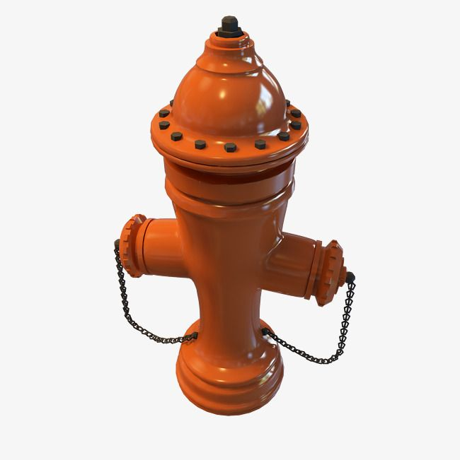 Orange Outdoor Fire Hydrant Png And Clipart
