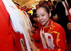Deng at the celebration: Celebrity, Sports, Deng, Kind, Gymnastics