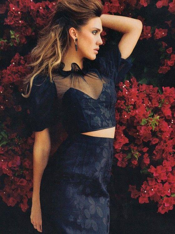 Smartologie: Jessica Alba for Latina Magazine April 2013