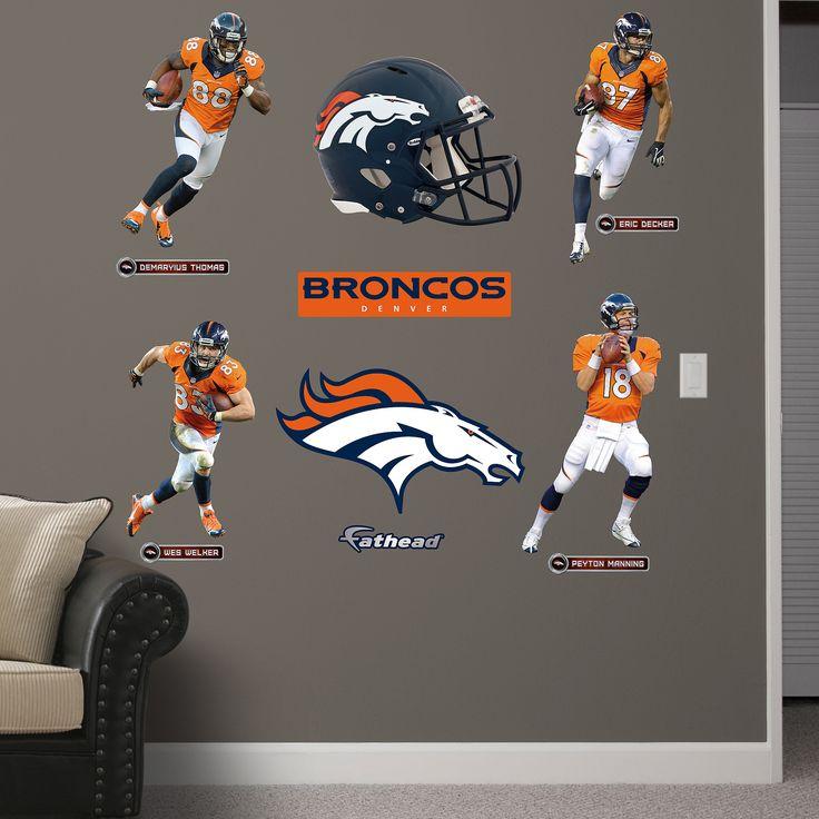 Denver Broncos Wall Decor 356 best broncos for the home images on pinterest | denver broncos