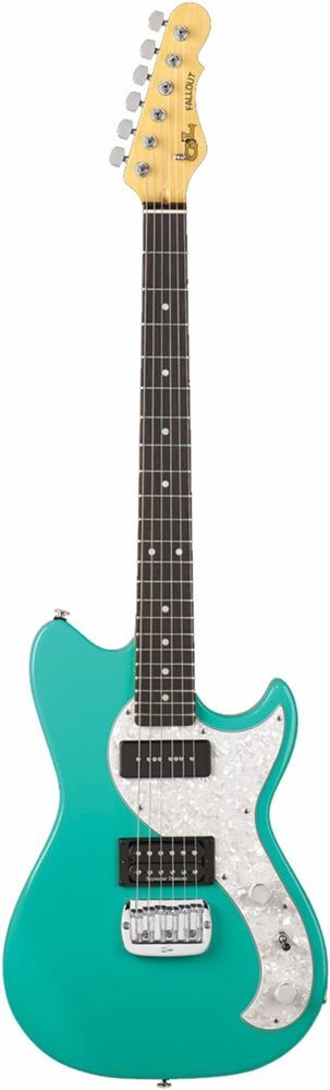 G&L Guitars Fallout  Tribute Series Electric Guitar with Mint Green Finish #GL
