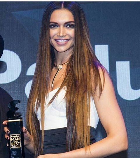 Look at her hair! #deepikapadukone #esquire