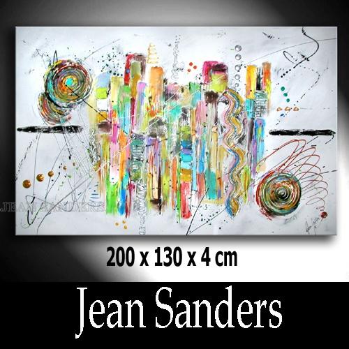 """Produktbeschreibung    Künstler:  Jean Sanders  """"SWEET HARMONY""""  200 x 130 x 4 cm  3D Bild mit tiefer Struktur !  MEINE RAHMEN-ABSOLUTE QUALITÄTSWARE"""