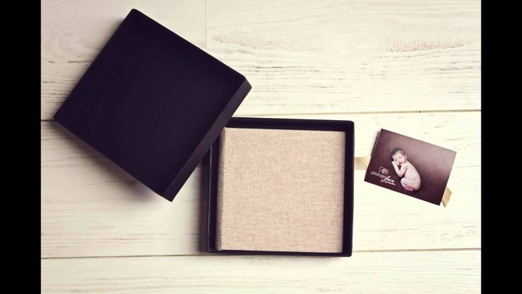 Maternity & Newborn Photography - Product and packaging