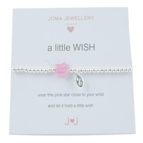 Joma jewellery Childrens a little Pink Butterfly bracelet Y6gIjg9kFx