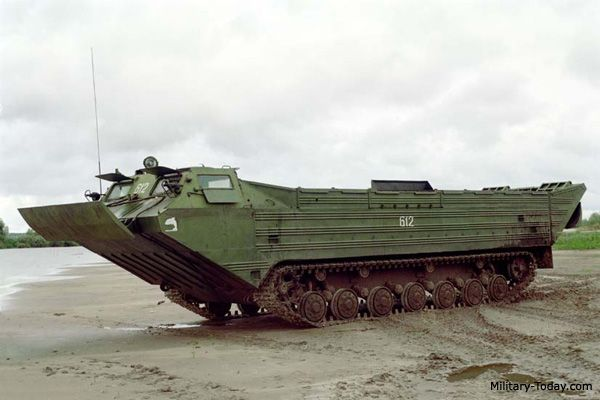 PTS-2 Amphibious Cargo Vehicle | Military-Today.com