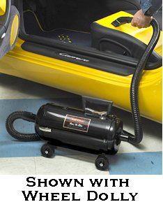 Metro Vac N Blo Portable Vacuum with 4 Wheel Dolly…