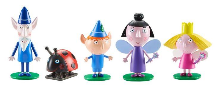 Los 3 mejores juguetes de El Pequeño Reino de Ben y Holly en 2016: serie animada de Nickelodeon, donde la princesa Holly (un hada) y su mejor amigo Ben (un duende), comparten aventuras