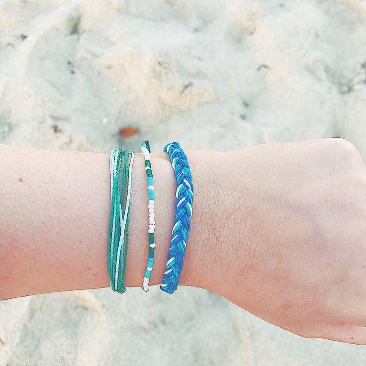 PV bracelets trio x @happylealove