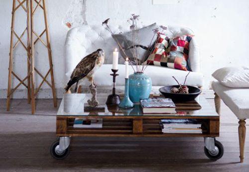 Lastpall bord: En modern klassiker - Inredningsvis