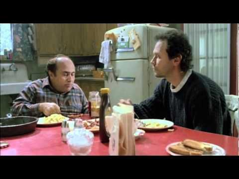 Throw Momma from the Train Trailer - A man (Danny DeVito) convinces his best friend (Billy Crystal) to kill his overbearing elderly mother (Anne Ramsey).  MGM - 1987
