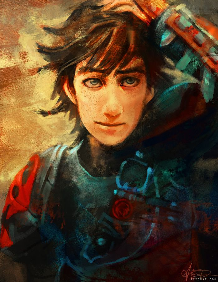 All grown up by alicexz.deviantart.com on @deviantART Looking good, Hiccup. <3