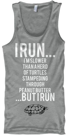 I am not a runner, but the humour behind this might just get me going!